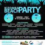 kizomba beach party